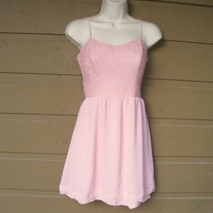 PRINCESS VERA WANG Dress, 3, Skater, Lace top